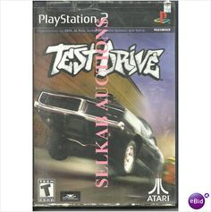Test Drive Play Station 2 game PS2 DVD PS/2 NTSC U/C used 742725226418 on eBid Canada