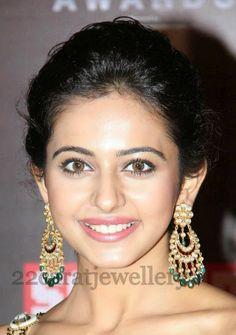 Anjali in all over Earrings | Jewellery Designs