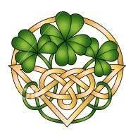 Celtic: Shamrocks and Celtic knot: Irish Ancestry Search, Irish Genealogy. Celtic Symbols, Celtic Art, Celtic Knots, Celtic Dragon, Celtic Patterns, Celtic Designs, Irish Roots, Irish Blessing, Irish Celtic