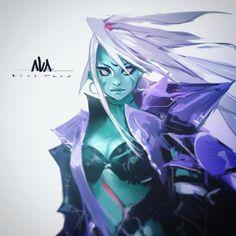 Meet AVA! by rossdraws.deviantart.com on @DeviantArt