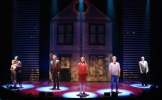 Next to Normal. Alliance Theatre. Scenic design by Kevin Rigdon. Lighting by Mike Baldassari. 2009
