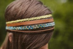 DIY: multi strand headband