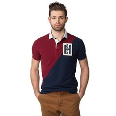 Marcus Slim Fit Polo - 310 - Polos, van Tommy Hilfiger