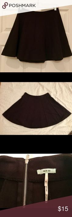 Black Skater Skirt (Urban Outfitters) Black Skater skirt from Urban Outfitters. This skirt is super comfy and fun to mix and match with different tops! In great condition as t was only worn once. Urban Outfitters Skirts Circle & Skater