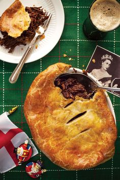 Beef Cheek and Stout Pie with Stilton Pastry, British Pies