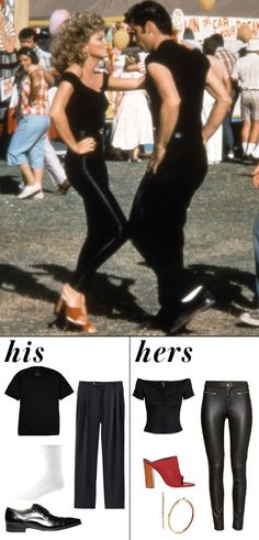 Shop Grease-inspired Halloween costumes. More