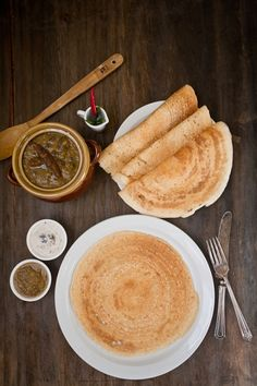 Dosa (South Indian rice crepes)