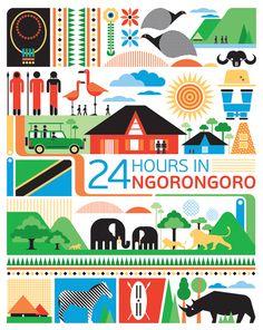 24 hours in Ngorongoro Tanzania - Art and design inspiration from around the world - CreativeRoots