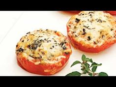 These Baked Parmesan Tomatoes Are a Quick and Easy Healthy Side Dish