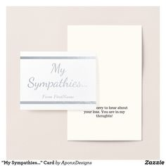 From folded to foil, find a variety of different note cards from Zazzle. Get your next set of note cards and begin taking notes in style! Condolences, Sympathy Cards, First Names, Gold Foil, Note Cards, Place Card Holders, Notes, Thoughts, Silver