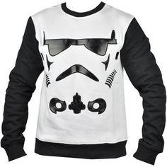 Vrei sa fii si tu un luptator la fel de puternic ca cei din Star Wars? Poarta bluza Stormed Crew de la Ecko Unlimited si vei simti ca esti invingator. Aplicatiile negre din piele ecologica in contrast cu materialul alb o fac usor de asortat. Este potrivita anotimpului de iarna deoarece este foarte plusata pe interior. Star Wars, Hoodies, Sweaters, Fashion, Moda, Sweatshirts, Fashion Styles, Parka, Sweater