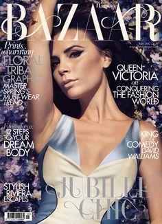 Victoria Beckham; Harper's Bazaar UK, May 2012