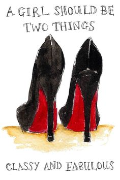 Louboutin Heels!!! I love this pic!