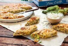 Παριανές - Παριανή Κουζίνα | Argiro.gr Food Categories, Salmon Burgers, Quiche, Feta, Cauliflower, Food And Drink, Cooking Recipes, Eggs, Chicken