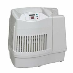 Essick Air Products MA0800 Humidifier by Essick Air Products. $79.38. Offers easy push button controls. Includes 8 gallons of moisture output per day. Lightweight and easy to setup. Includes a long-lasting filter. Great for adding moisture to dry household conditions. 8 gallon evaporative humidifier humidifies up to 1700 sq. ft. Has 3 digitally controlled speeds including Ultra Quiet (low), automatic shutoff, check filter indicator, refill indicator, and 2.4 gallon...