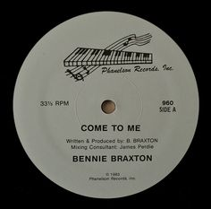 Funk-Disco-Soul-Groove-Rap: Bennie Braxton - Come To Me