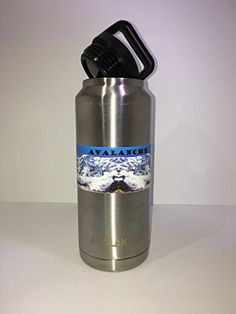 Avalanche 36 ozDouble Wall Insulated Vacuum Sealed Stainless Steal Thermos ColdHot Sport Water Bottle >>> Read more reviews of the product by visiting the link on the image.Note:It is affiliate link to Amazon.