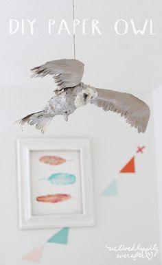 DIY: Paper Owl