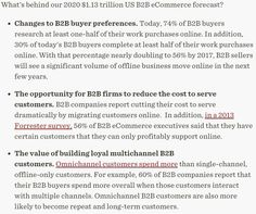US B2B eCommerce Forecast: 2015 to 2020 - Forrester