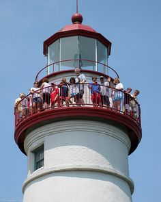 Marblehead Lighthouse Ohio, Lake Erie Shores & Islands area. The Miller Ferries depart 10 miles from this iconic lighthouse