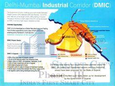 Delhi-Mumbai Industrial Corridor (DMIC). #Dholera #DholeraSIR #DholeraSmartCity #Gujarat