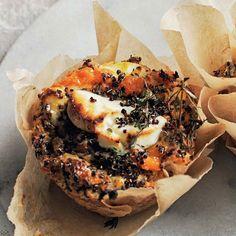 Quinoa and Sweet Potato Bakes