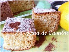 La cocina de Camilni: Bizcocho de nata