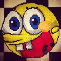 SpongeBob hama perler beads by tenichi