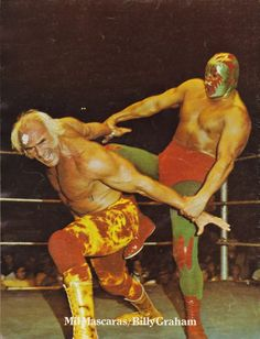 Mil Mascaras vs. Superstar Billy Graham