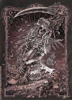 Santa Muerte by Christopher Lovell