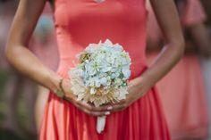 Bridesmaid Bouquet with Hydrangea