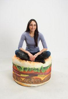 ハンバーガーが好きすぎる人のための椅子【Burger Beanbag】