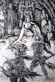 Gal - Illustration par Jean-Claude Gal - Oeuvre originale http://en.2dgalleries.com/art/gal-illustration-13706