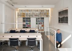 The Modern House office furniture by Assemble, London – UK