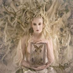 ~~ 'The White Witch from the 'Wonderland' Series Model: Katie Hardwick Photographer: Kirsty Mitchell, 2009 Fantasy Photography, Fashion Photography, Creative Photography, Ethereal Photography, Whimsical Photography, Concept Photography, Inspiring Photography, Rose Photography, Photography Gallery