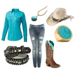 Rodeo girl (:, created by callirobinson23 on Polyvore