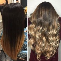Olaplex Stylist @hnutts kreierte eine wunderschöne Farbkorrektur! Von blockartig zu verblendet in nur einer Sitzung. Olaplex ist anwendbar mit allen Bleichmitteln, Haarfarben und nahezu mit allen chemischen Behandlungen. #colorcorrection #balayage #brunette #healthyhair #olaplex blonde