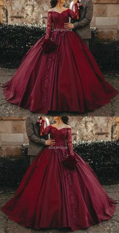 Tulle Ball Gown, Ball Gowns Prom, Ball Gown Dresses, Burgundy Quinceanera Dresses, Colored Wedding Dresses, Princess Prom Dresses, Princess Ball Gowns, Burgundy Gown, Burgundy Wedding