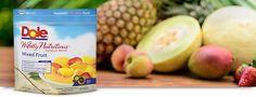 dole frozen fruit healthy fruit milkshakes