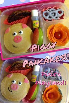 Quick Piggy Bento lunch box