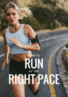 It's hard in part because not every runner knows the speed from which to base those paces. Here's how to nail the right pace for every workout. How to Run at the Right Pace