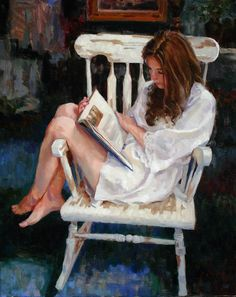 Women Reading - simena: SCOTT HARDING This is so me!! Aline