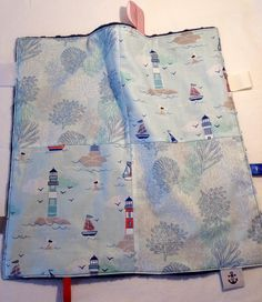 A personal favorite from my Etsy shop https://www.etsy.com/ca/listing/553096079/nautical-lovey-sensory-blanket-snuggly