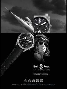 Bell & Ross Watch Advertising