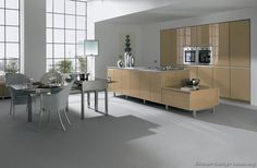 #Kitchen Idea of the Day: Contemporary Kitchens. (By ALNO, AG)
