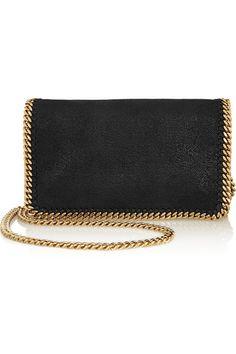 Stella McCartney   Falabella faux brushed-leather shoulder bag   $895