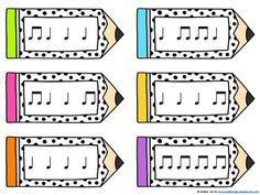 Pencil Post Office Rhythm Games: ta and titi by Lindsay Jervis Office Music, Office Set, Post Office, Piano Songs For Beginners, 1st Grade Activities, Rhythm Games, Piano Teaching, Music Education, Lesson Plans