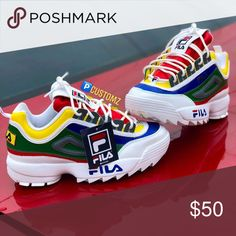 sports shoes a4d49 5ef50 Filas Customs brand new Fila Shoes Sneakers Sneaker Damen, Outfit Ideen,  Fila Schuhe,