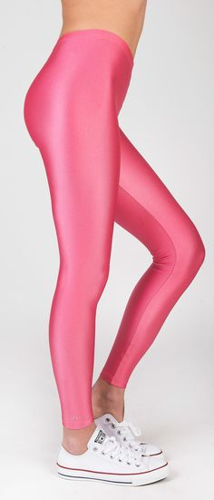 PCP Jaqueline - rosa shiny leggings
