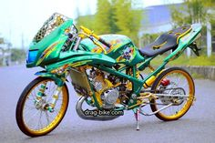 Modifikasi Jupiter Mx 135 Kontes Airbrush Rider Pinterest Drag